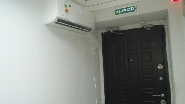 Кондиционеры установка в коридоре кассетный блок кондиционера mitsubishi